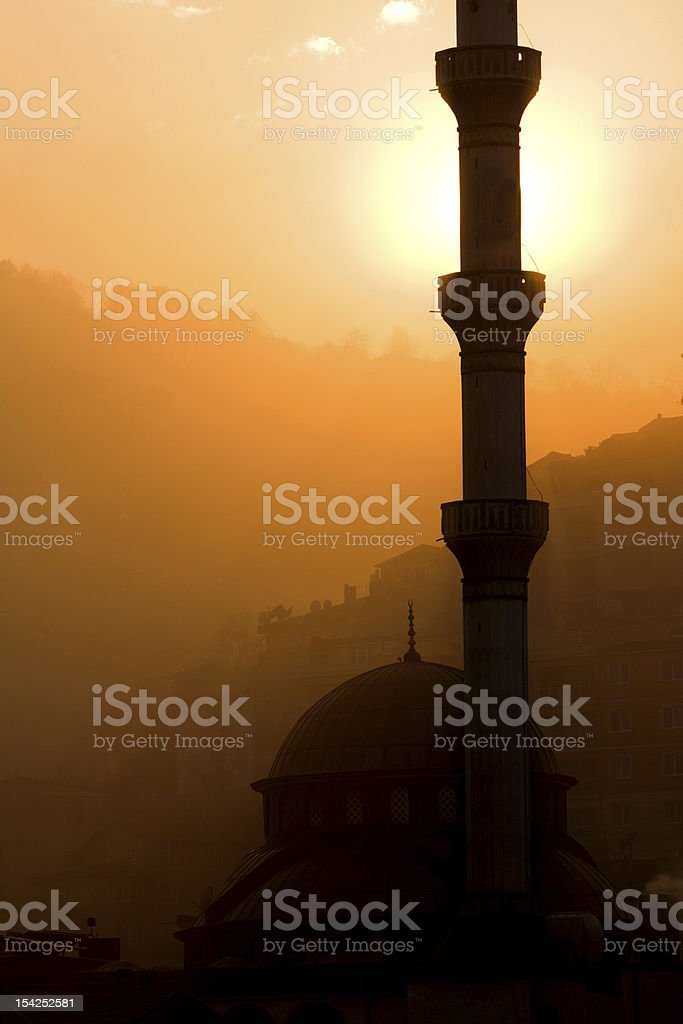 Turkey Mosquee royalty-free stock photo