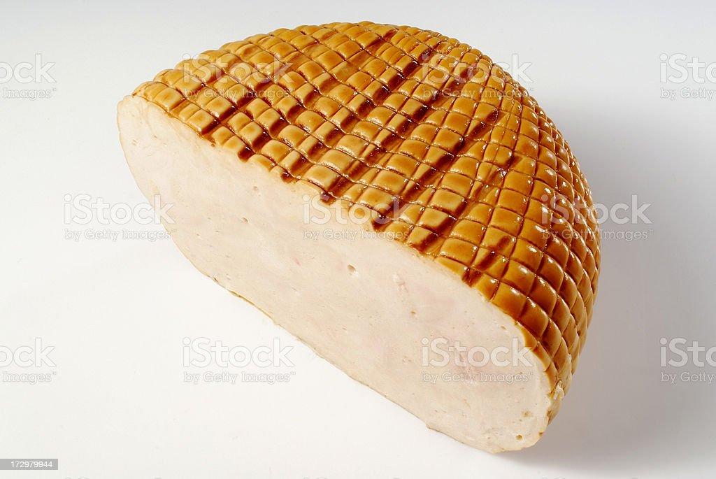Turkey piece stock photo