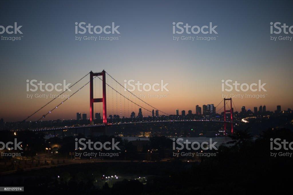Türkiye'de yeniden adlandırır Boğaziçi Köprüsü