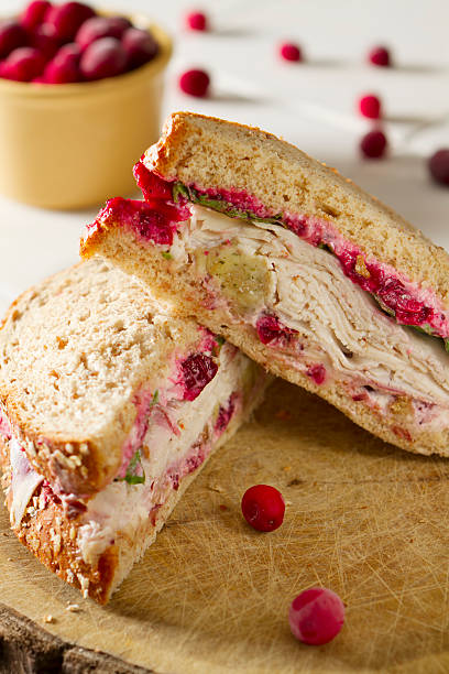 Turkey Sandwich with all the Fixings