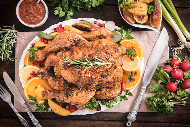 Turkey time stock photo