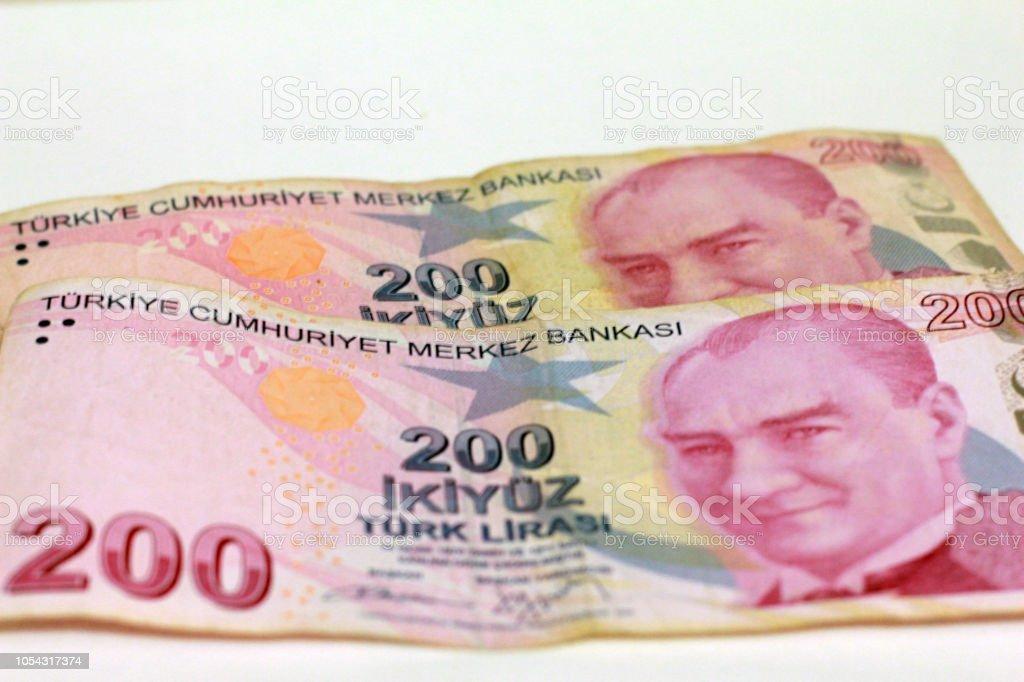 Photo Libre De Droit De 200 Livre Turque Banque D Images Et