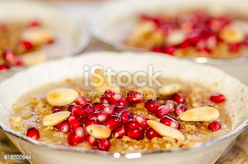 618202484 istock photo Turkish Ashura - Noah's pudding 618202644