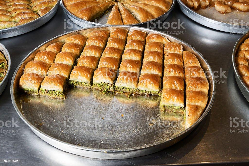 Türkische baklava – Foto