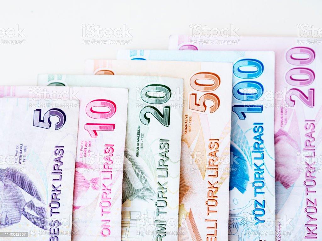 Photo Libre De Droit De Billets Turcs Livre Turque Banque D