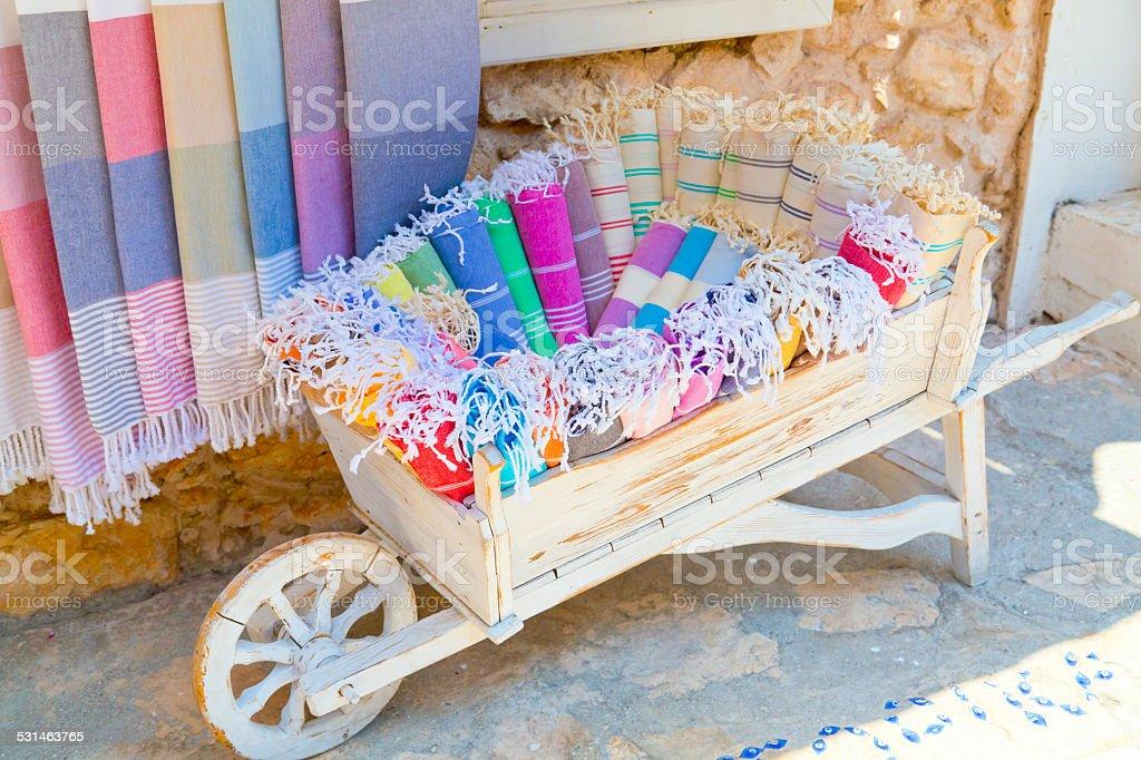 Turkish bath equipment stock photo