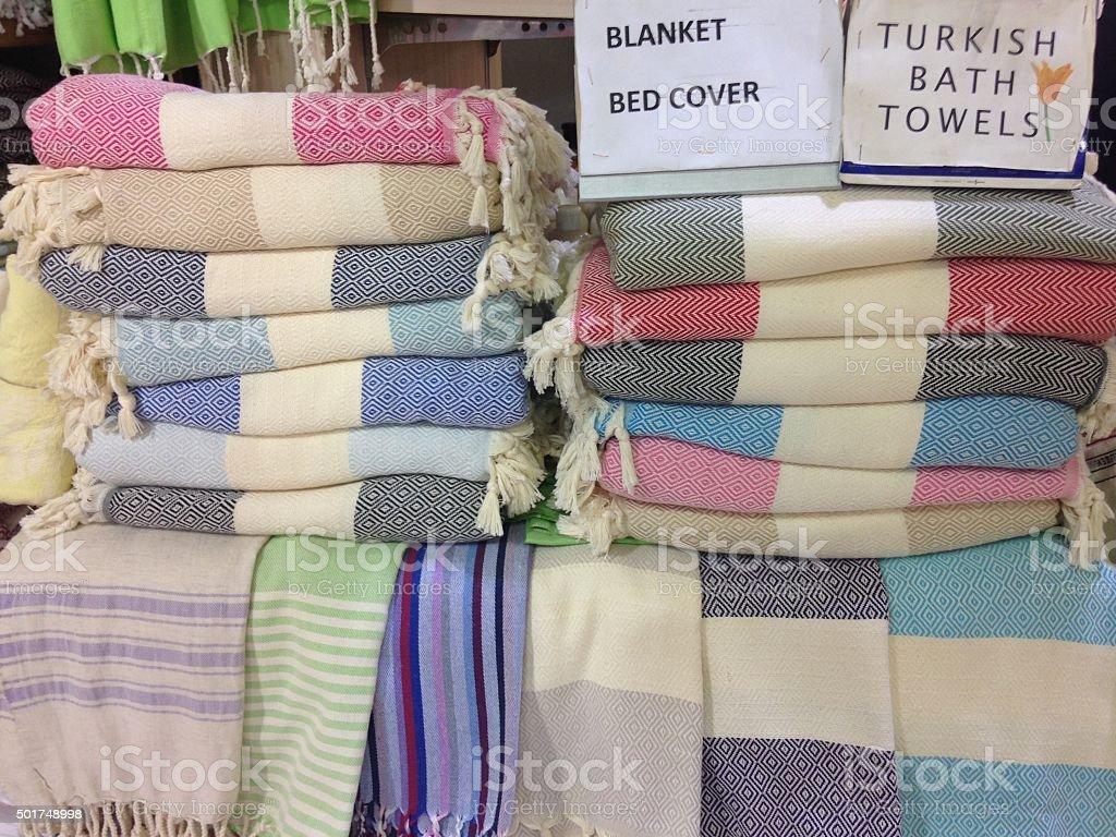 Asciugamani da bagno turco foto di stock istock