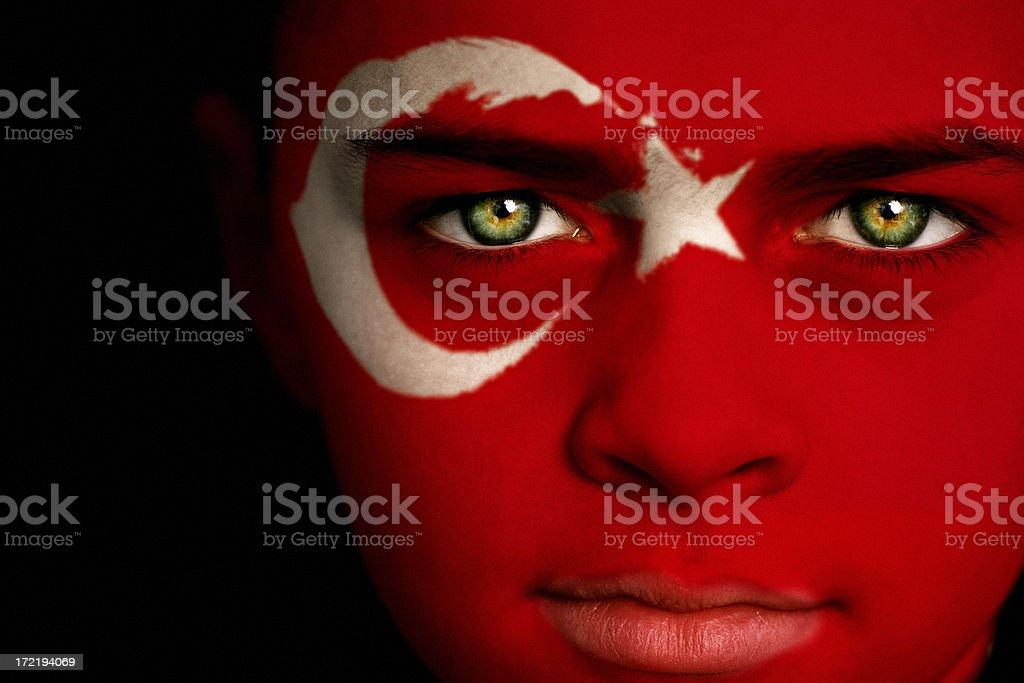 Turkish boy royalty-free stock photo