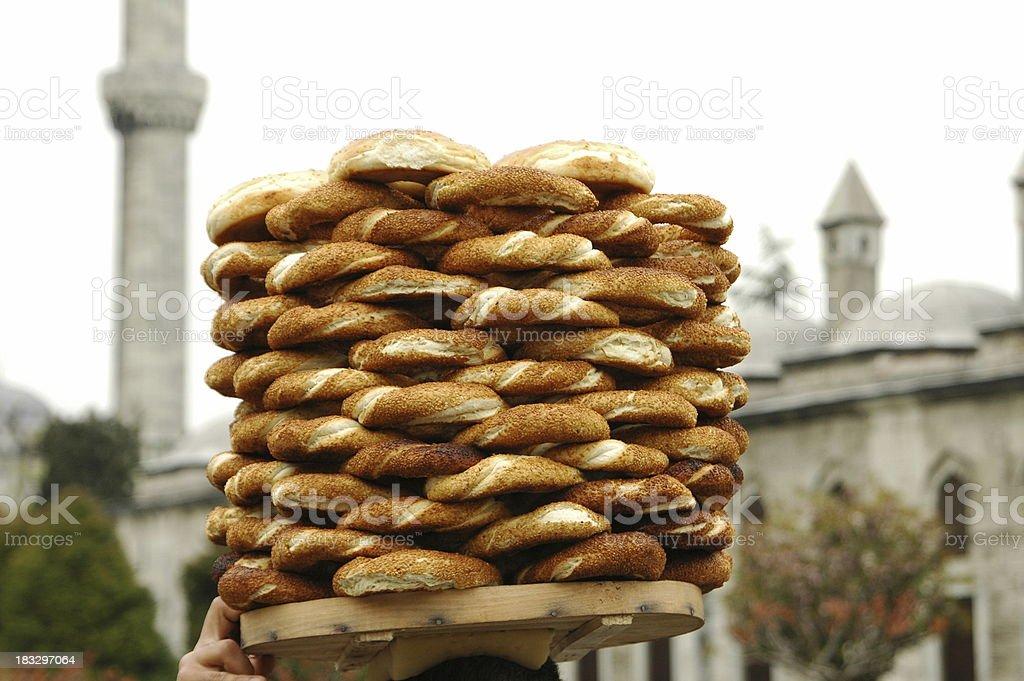 Turkish bread royalty-free stock photo