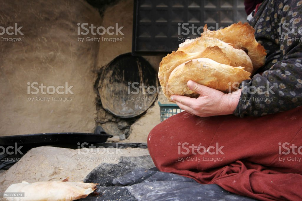 Turkish Bread stock photo