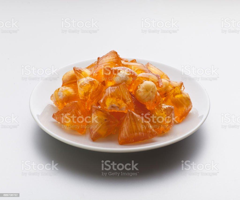Turkish candy (akide) stok fotoğrafı