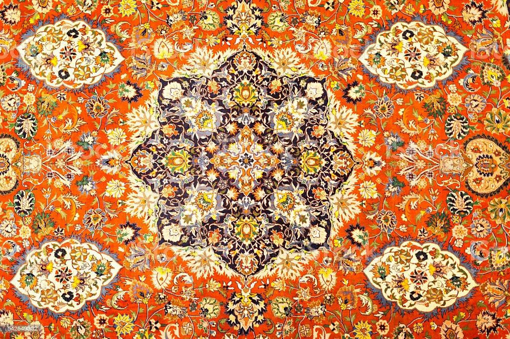 Turkish Carpet Backgrounds stock photo