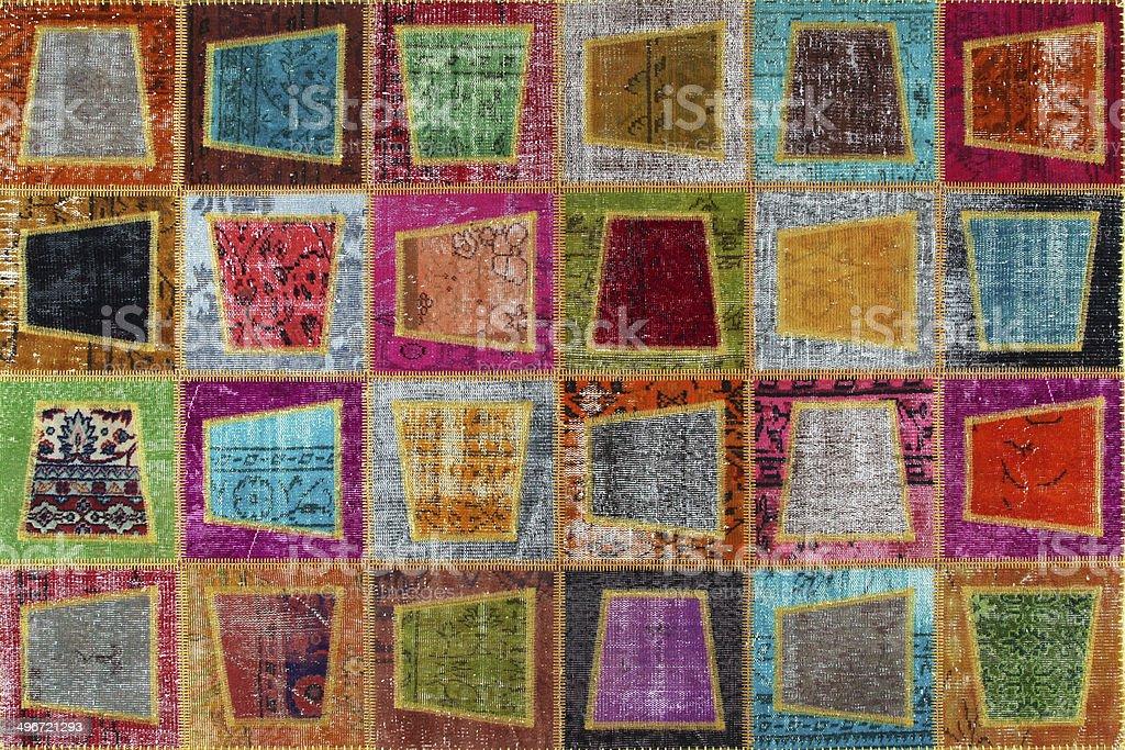 Turkish carpet patch work