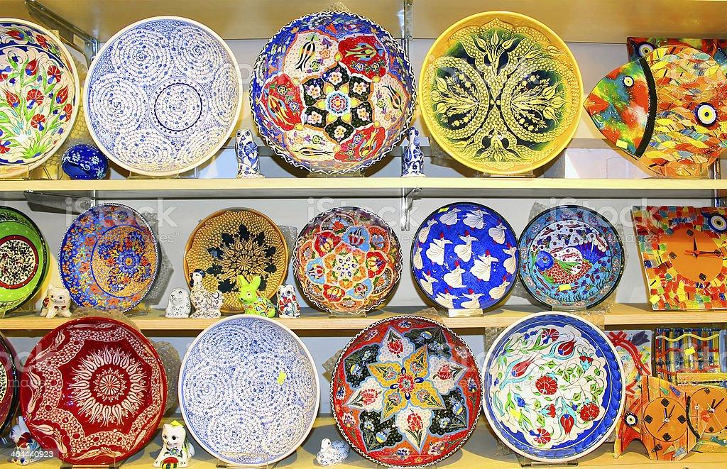 Turkish Ceramics royalty-free stock photo