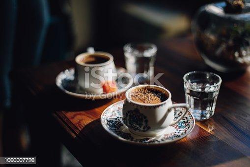 Turkish coffee and turkish delights