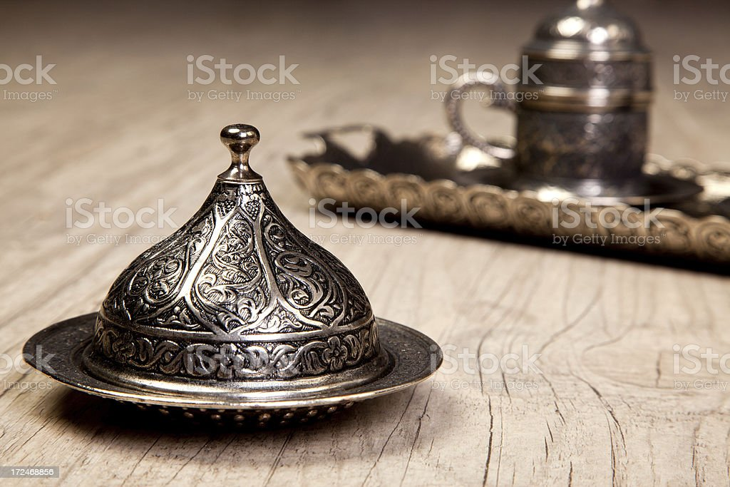 Turkish coffee cup royalty-free stock photo