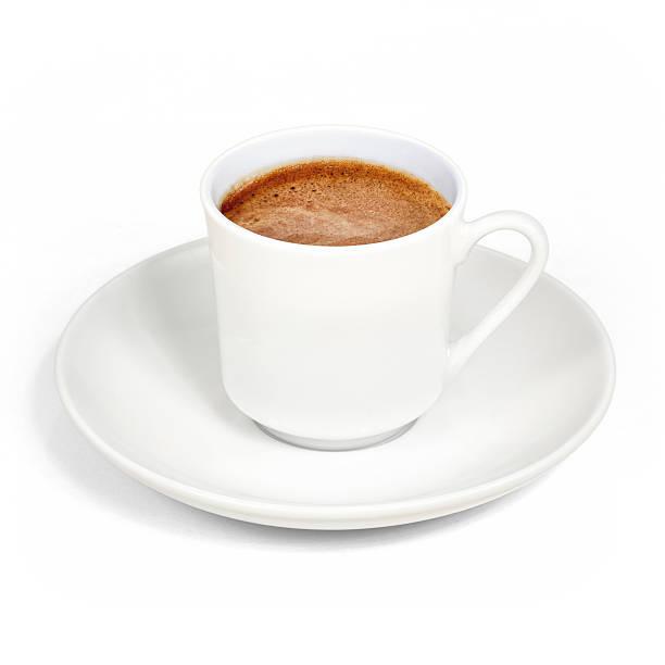 Türkischer Kaffee, Schaumgummi – Foto