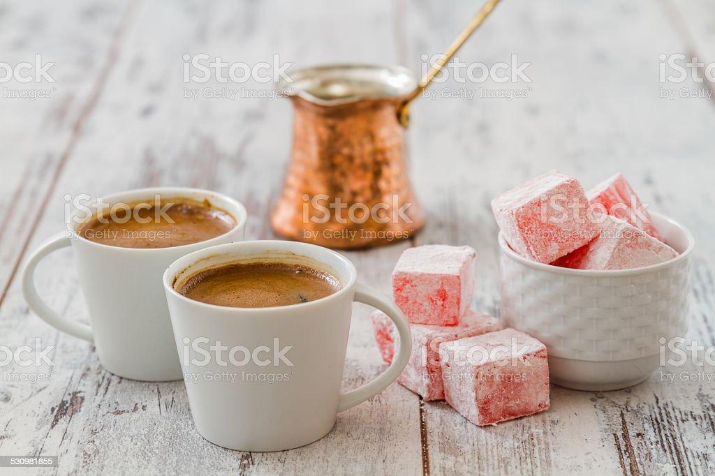 Turkish Coffee Pot royalty-free stock photo