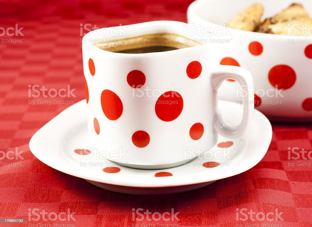 Turkish coffee with cookies royalty-free stock photo