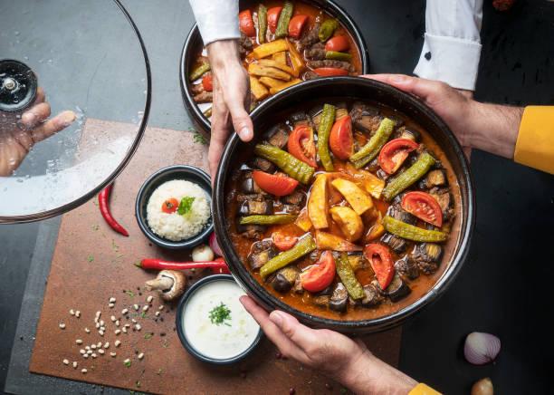 Turkish Cuisine stock photo