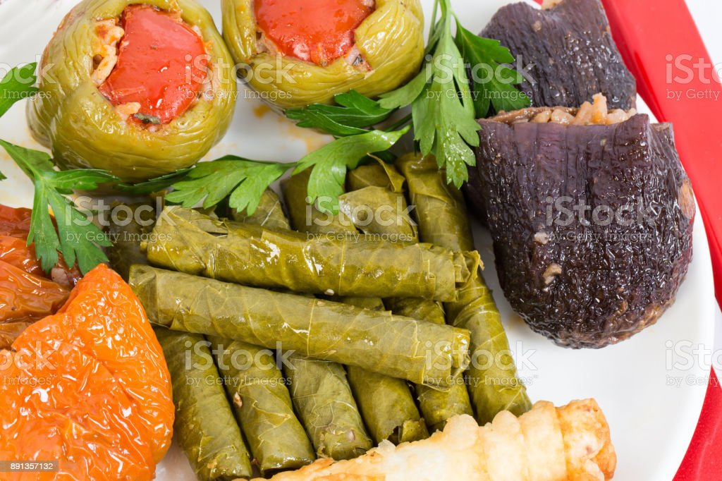 turkish cultural food stock photo