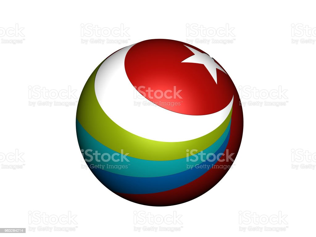 Turkish Culture Logo stock photo