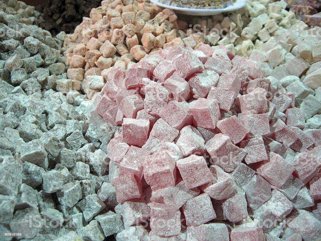 Turkish Delight in the grand bazaar, Istanbul​​​ foto