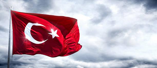 Türkische Flagge – Foto