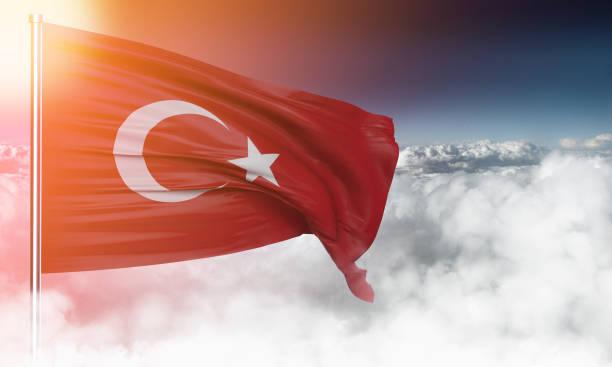 türk bayrağı - türkiye stok fotoğraflar ve resimler