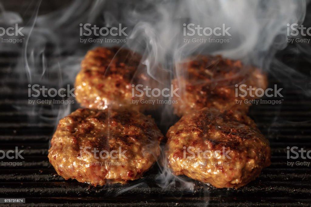 Türkisches Essen Köfte oder Kofta. Döner / Kebap - Lizenzfrei Essen - Mund benutzen Stock-Foto