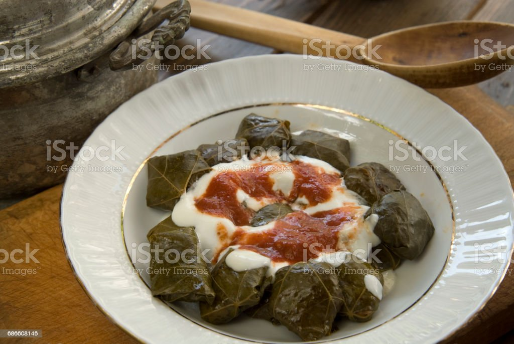 Turkish food royalty-free stock photo