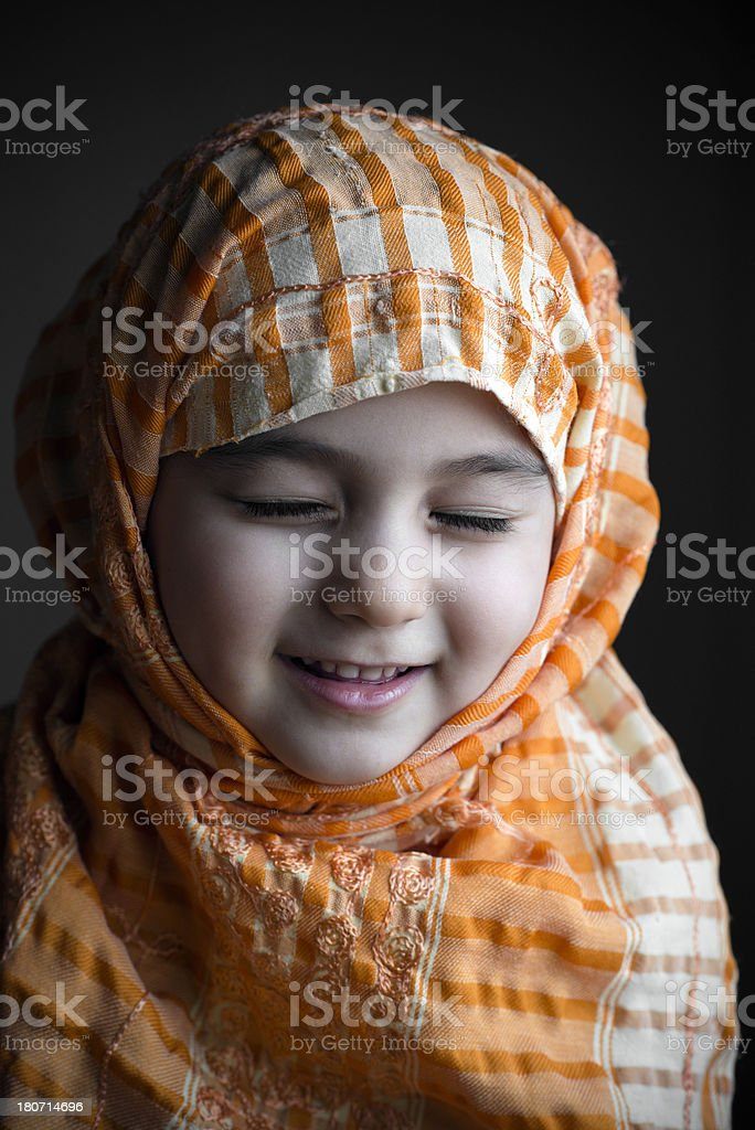 Turkish girl royalty-free stock photo
