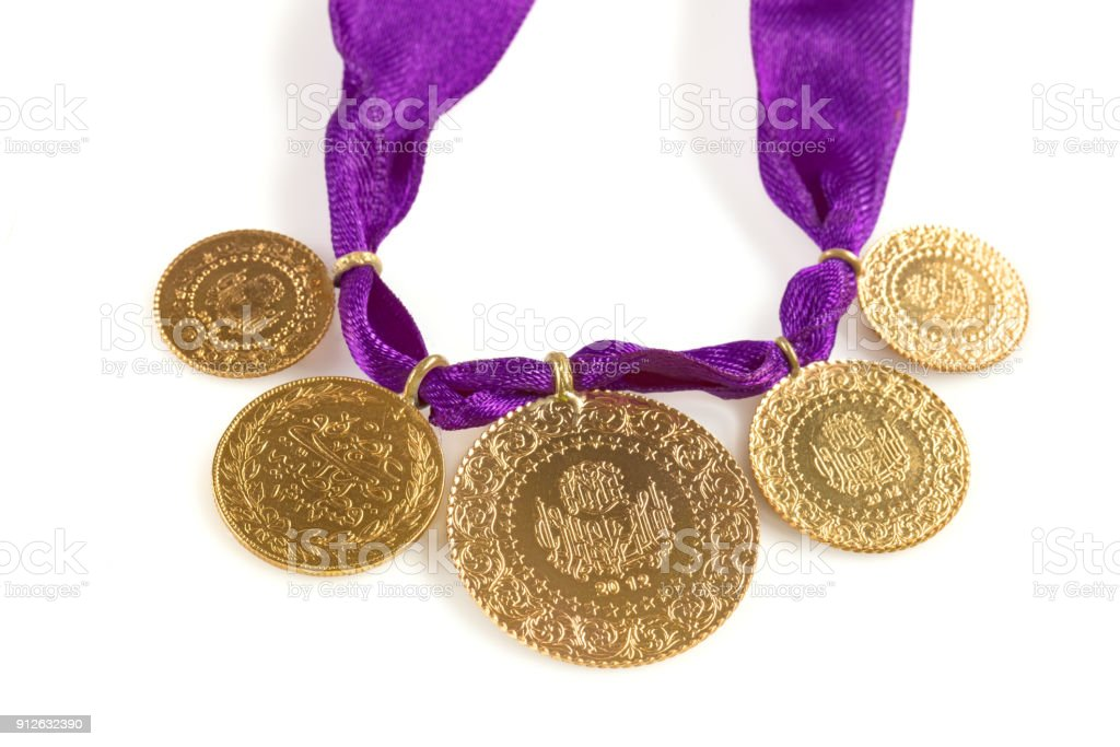 Turkish Gold Coins Stock Photo - Download Image Now - iStock