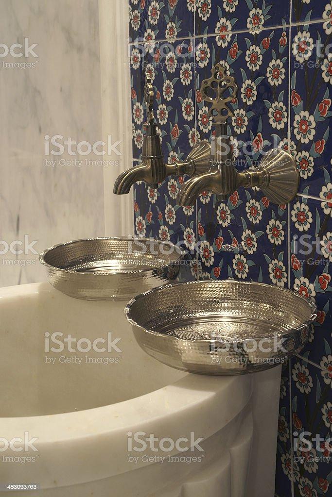 turkish hammam royalty-free stock photo