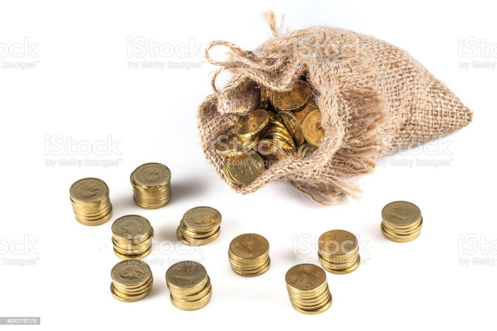 Türkische Liramünzen Türkische Lirageld Türkische Lirawährung Münzen