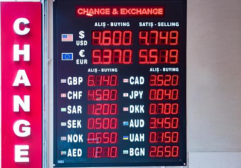 터키 리라 환율 표시 가격에 대한 스톡 사진 및 기타 이미지