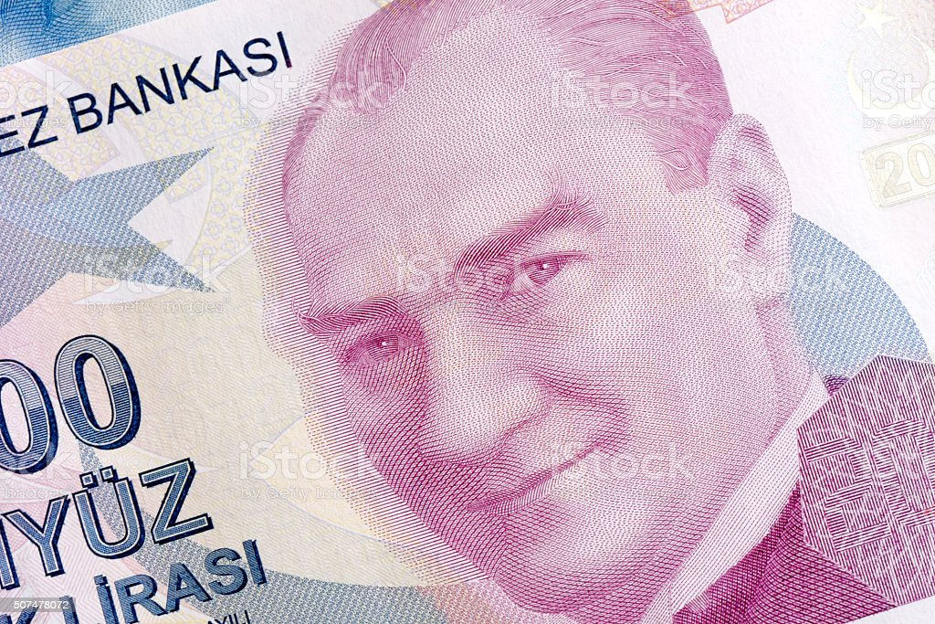 Turkish Lira, Two Hundred TL stock photo