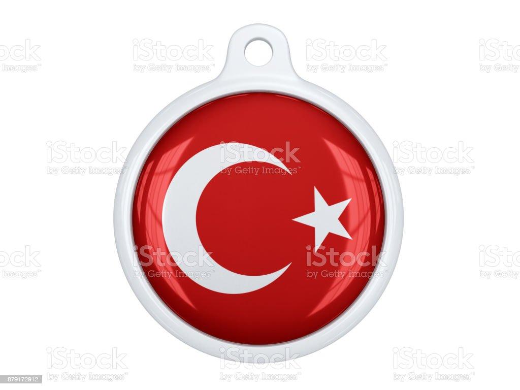 Turkish medal stock photo