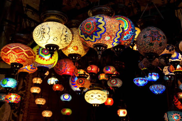 Cтоковое фото Turkish Mosaic Lamps