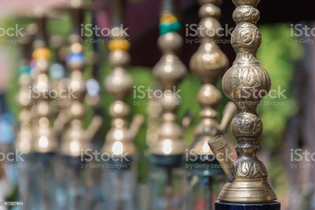 Turkish Nargile (Hookah) stock photo