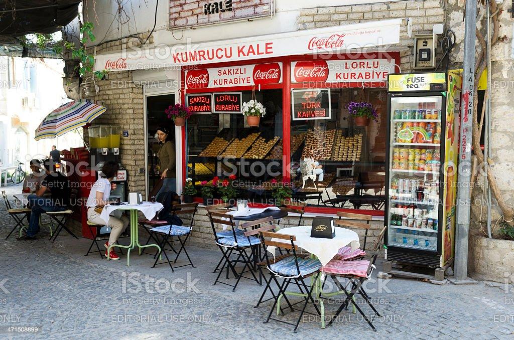 Turkish patisserie in Alacati foto