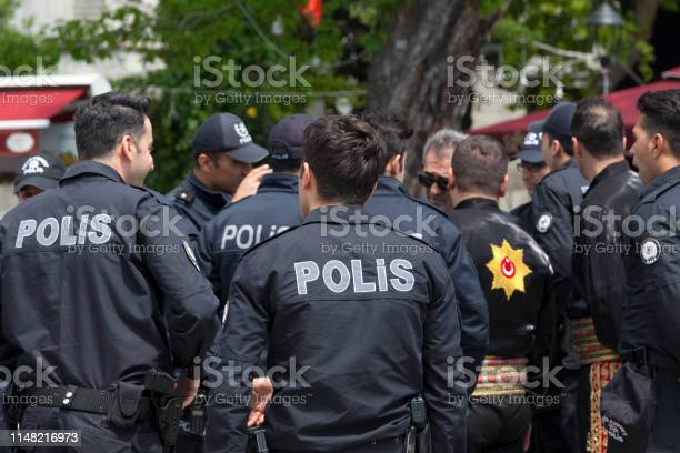 Turkish Policemen Stock Photo - Download Image Now