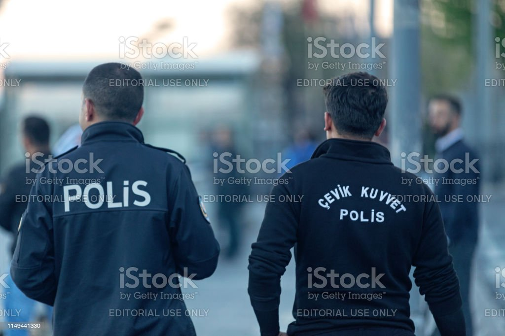Turkish Riot Squad (Agile Force) - Royalty-free Adult Stock Photo