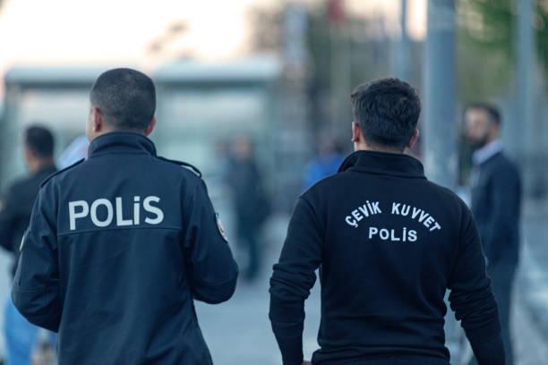 Turkish Riot Squad (Agile Force) stock photo