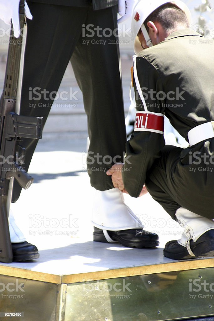 Turkish Soldiers royalty-free stock photo