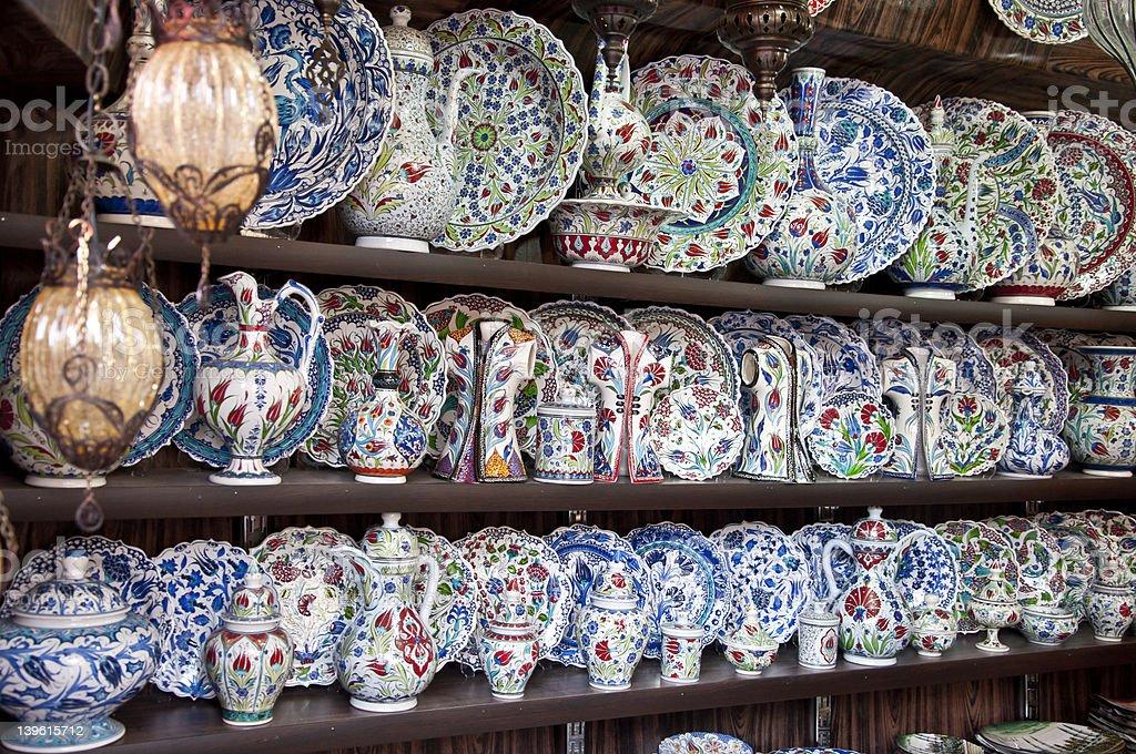 Turkish Souvenirs royalty-free stock photo