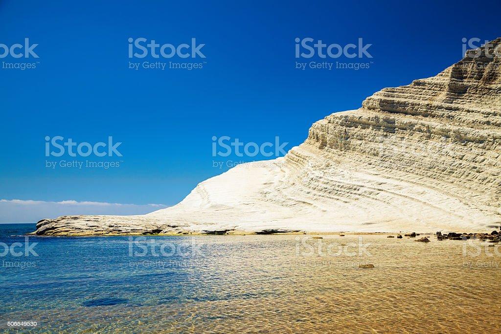Scalinata Turchia, vicino ad Agrigento, Sicilia - foto stock