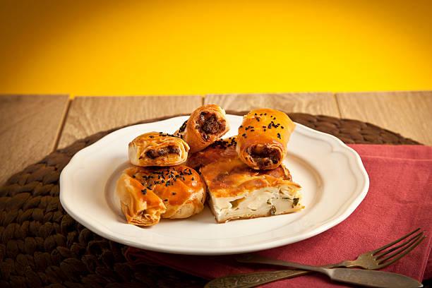 Turkish style meat and cheese mixed borek served su boregi picture id486391949?b=1&k=6&m=486391949&s=612x612&w=0&h=kwubddvjckdvqgcm2mfpvtph4lad8yertm2s7lvay0e=