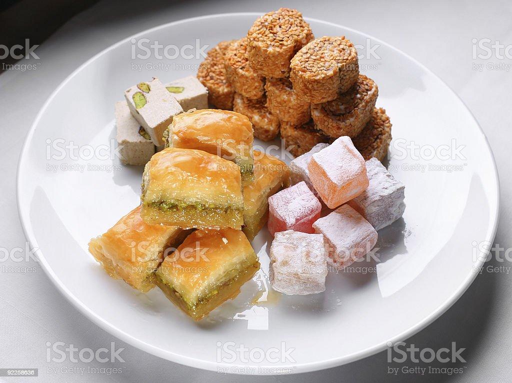 Turkish sweetness royalty-free stock photo