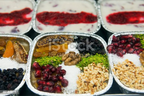 istock Turkish sweets Ashura ( Noah's pudding ) 461848151